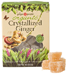 Organic Crystallized Baby Ginger